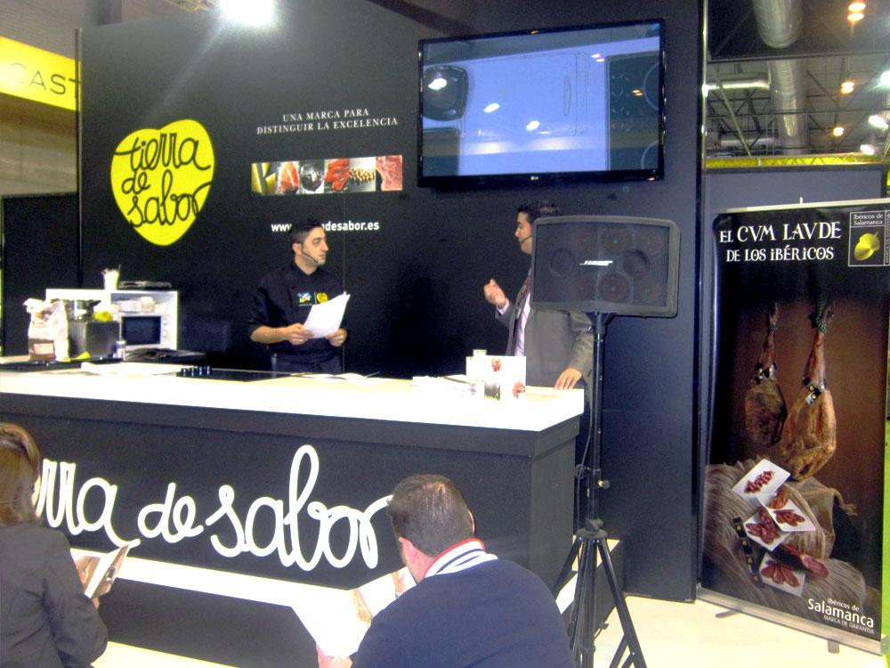 Participación en el «Salon de Gourmet 2012»